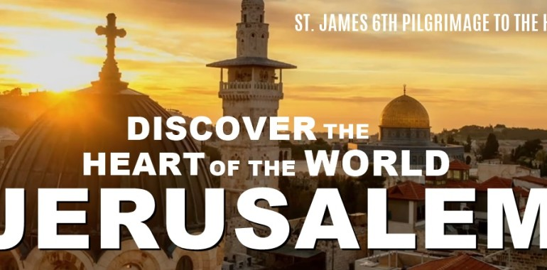 Join Us This Summer in the Holy Land