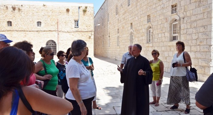 Pilgrimage Update: Exploring Jerusalem's Armenian Quarter