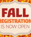 Fall Enrollment Now Open