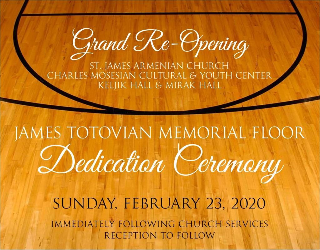 Floor Dedication 022320 _2
