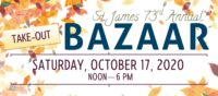 73rd Annual (Take-Out) Bazaar